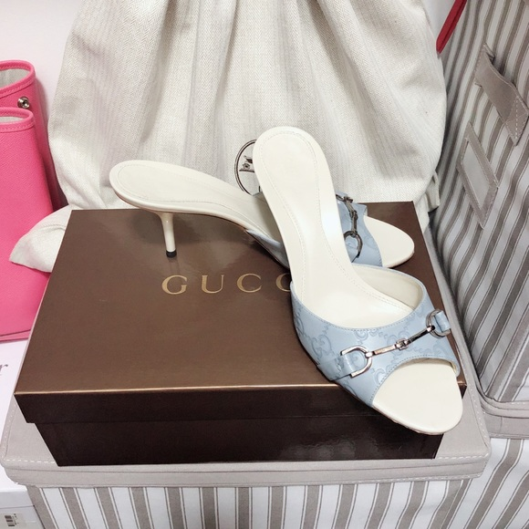 Gucci Shoes - Gucci monogram slippers